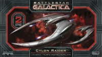 Cylon Raider - Battlestar Galactica - Set (2 Pack) - 1:72