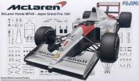 McLaren MP4/6 - Japan Grand Prix 1991 - 1:20