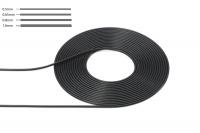 Kabel 0,65 mm Durchmesser - Schwarz