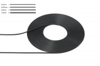 Cable 0.5 mm Outer Diameter - Black