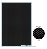 Tamiya Carbon Pattern Decal - Plain Weave / Fine