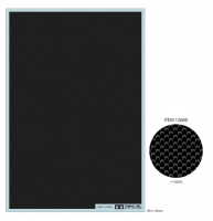 Tamiya Carbon Pattern Decal - Plain Weave / Extra Fine
