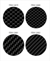 Tamiya Carbon Pattern Decal - Twill Weave / Fine