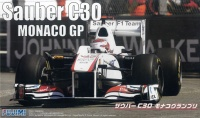 Sauber C30 Monaco GP (mit Motor) - 1:20