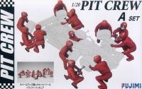 Garage & Tool - Pit Crew Set A - Boxencrew Reifenwechsel - 1:20
