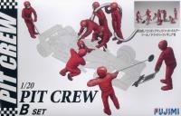 Garage & Tool - Pit Crew Set B - Boxencrew Tanken - 1:20