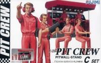 Garage & Tool - Pit Crew Set C - Kommandostand - 1:20