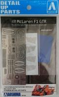 McLaren F1 GTR Detail Up Parts Set - Zubehörset - 1:24