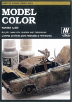 Vallejo Model Color and Panzer Aces - Handmade Colour Chart 2017