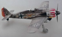 German Focke-Wulf Fw 190A-5 Major Graf - Finished / Pre-Build Model - 1/18