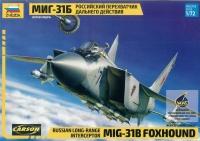 Mikoyan MiG-31 B Foxhound - Russischer Abfangjäger - 1:72