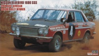 Nissan Bluebird 1600 SSS 1970 East African Safari Rally Sieger - 1:24