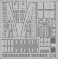 Photo-Etched Parts Hull Body for 1/48 DKM U-Boat Type VII C - Trumpeter 06801 - 1/48