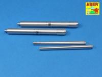 12,8cm Flak 40 Zwilling - Aluminium Geschützrohre