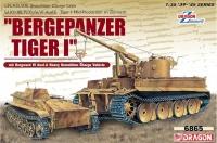 Bergepanzer Tiger I mit Borgward IV Ausf. A - 1:35