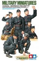 Wehrmacht Panzerbesatzung - Figurenset - 8 Figuren - 1:35