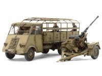 Geman 3,5t Truck AHN with 3,7cm Flak 37 AA Gun - 1/35