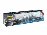 Fletcher Class Destroyer - PLATINUM EDITION - 1:144