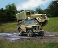 M34 Tactical Truck + Off-Road Vehicle - 1:35