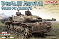 StuG. III Ausf. G - Concrete Armor - with Zimmerit - 1:35