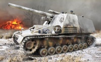 Hummel - Sd.Kfz. 165 - Erstserien-Produktion mit Winterketten - 1:35