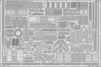 Photo-Etched Parts pt.2 Superstructure for 1/144 HMCS Snowberry - Revell 05132 - 1/144