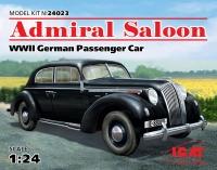 Admiral Saloon - WWII German Passenger Car