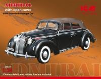 Admiral Cabriolet - Soft Top - WWII German Passenger Car - 1:24