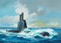 Submarine Class 214 - 1/144