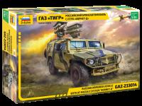 GAZ-233014 - Russ. gepanz. Geländewagen mit