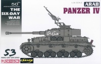 Arab Panzer IV - The Six-Day War - 1:35