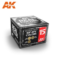 Real Colors - IDF AFV Colors - Modern - Set of 3 Colors