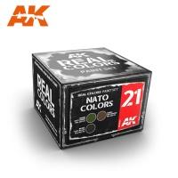 Real Colors - NATO Tarnfarben - Farbset - Modern (3 Farben)