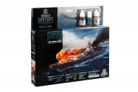 World of Warships - GRAF SPEE - Model-Set - 1:720