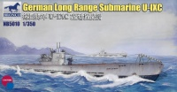 German Long Range Submarine Type IXC - 1/350