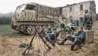 Steyr RSO/01 mit Soldaten und Zubehör - 1:35