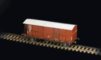 Güterwagen F mit Bremserhaus - 1:87 / H0