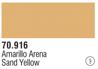 Model Color 009 / 70916 - Sand Gelb / Sand Yellow