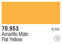 Model Color 015 / 70953 - Signalgelb / Flat Yellow RLM4