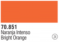 Model Color 024 / 70851 - Reinorange / Bright Orange