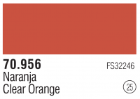 Model Color 025 / 70956 - Orange Klar / Clear Orange FS32246