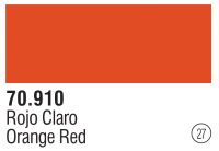 Model Color 027 / 70910 - Blutorange / Orange Red