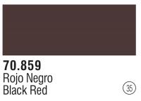 Model Color 035 / 70859 -  Schwarzrot / Black Red