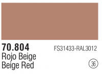 Model Color 036 / 70804 - Beige Red - FS31433 - RAL3012