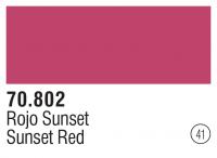 Model Color 041 / 70802 - Sunset Red