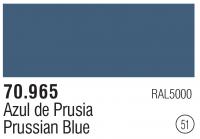 Model Color 051 / 70965 - Preussisch Blau / Prussian Blue RAL5000