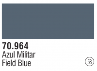 Model Color 058 / 70964 - Graublau hell / Field Blue