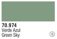 Model Color 076 / 70974 - Blassgrün / Green Sky