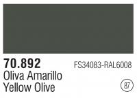 Model Color 087 / 70892 - Gelbolivgrün / Yellow Olive - FS34083 - RAL6008