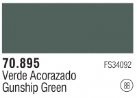 Model Color 088 / 70895 - Gunship Green - FS34092
